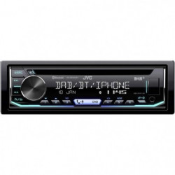 JVC Autoradio Bluetooth - CD - USB - Variocolor KD-DB902BT
