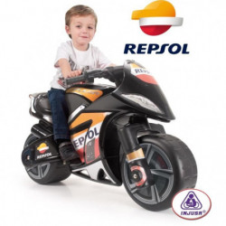 INJUSA Moto Électrique Enfant Repsol Moto Wind - 6 V