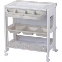 SAFETY 1ST Table à langer Dolphy Warm Grey