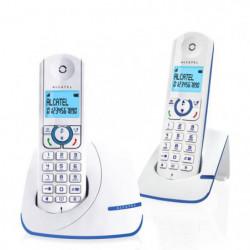 Alcatel F390 Duo Téléphone Sans Fil Sans Répondeur