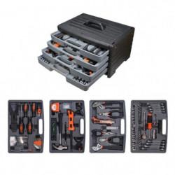 MANUPRO Mallette a outils 199 accessoires