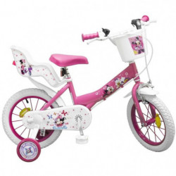 "Vélo 14"" Minnie - Fille - Rose"