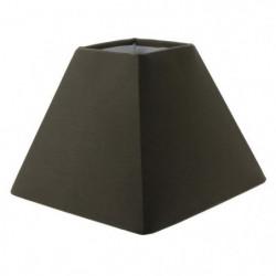 Abat-jour forme Pyramide - 23 x 23 x H 16 cm - Polycoton - B