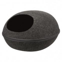 TRIXIE Abri douillet Liva 40 × 24 × 47 cm - Gris anthracite