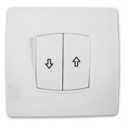 ZENITECH Interrupteur Commande volet roulant vis + griffes D
