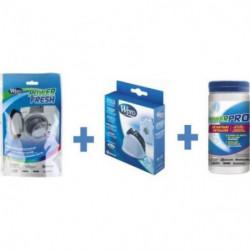 WPRO KDW100 Kit d'entretien pour lave-linge avec poignée (co