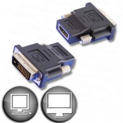 Adaptateur HDMI femelle / DVI mâle