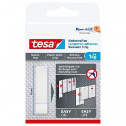TESA Languettes adhésives - Pour papier peint & plâtre - Cha