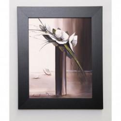 TRAMONI OLIVIER Image encadrée Bouquet blanc II 31x37 cm Mar