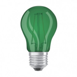 OSRAM Ampoule déco LED sphérique E27 - Verte