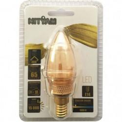 Ampoules LED E14 flamme Déco Nouvelle Génération - 2 W équiv
