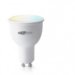 CALIBER HWL5201  Ampoule LED intelligente GU10 blanc froid a