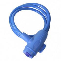 Antivol Spiral D8 1m a clé