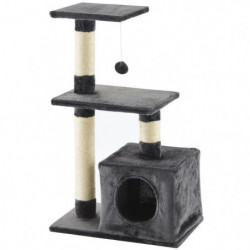 Arbre à chat Peanut - 50x30x80cm - Gris