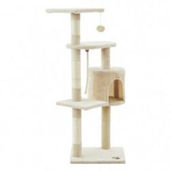 Arbre à chat Pompon2 - 40x40x114cm - Beige