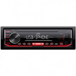 JVC Autoradio KD-X252 - CD - Iphone - Android - Illumination