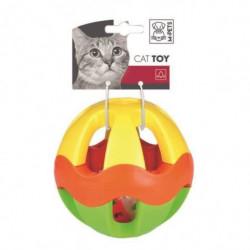 MPETS Balle de jeux Vague - Pour chat - Multi couleurs