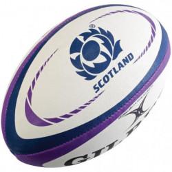 GILBERT Ballon de rugby REPLICA - Taille Midi - Ecosse