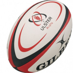 GILBERT Ballon de rugby REPLICA - Ulster - Taille Midi