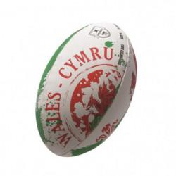GILBERT Ballon de rugby FLAG SUPPORTER - Pays de Galles - Ta