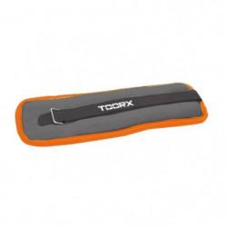 TOORX Poids pour Chevilles et Poignets 2x1 kg Orange AHF-072