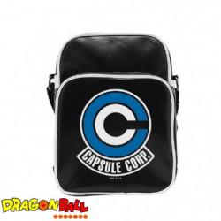Sac Besace Dragon Ball Z - Caps Corp - Vinyle Petit Format -