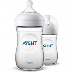 PHILIPS AVENT Lot de 2 biberons Natural 2.0 - 260 ml