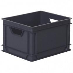 ALLIBERT Boîte de rangement Lux - Gris - 30 L