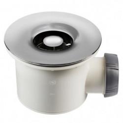 WIRQUIN Bonde de douche Tourbillon - Ø 90 mm - Grille en ABS