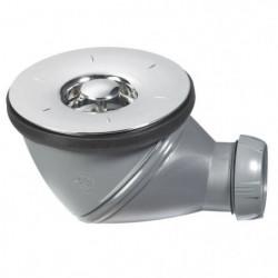 WIRQUIN Bonde de douche James - Ø 90 mm - Grille en ABS chro