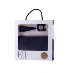 Set Champagne - Ouvre bouteille - Bouchon - Housse rafraichi