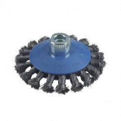 BOSCH Brosse conique a fil d'acier M14 - Ø 115 mm