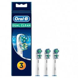 Oral-B Brossettes de rechange x3 Dual Clean