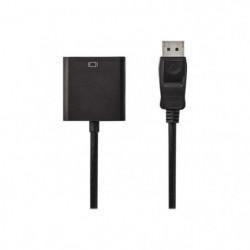 Nedis Carte d'écran DisplayPort (M) pour DVI-D (F) DisplayPo