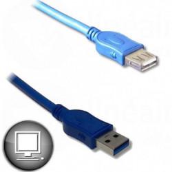 Câble Rallonge USB 3.0 A mâle / A femelle 1.8m