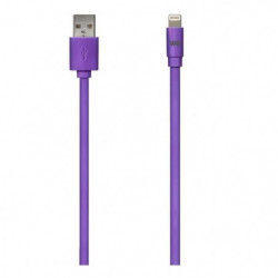 WE Câble USB Apple - Silicone - Violet