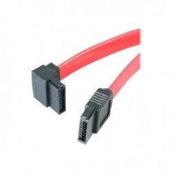 Câble SATA à angle gauche de 46 cm - Câble SATA à angle gauc