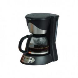 KITCHEN CHEF KSMD230T Cafetiere - 6 tasses - Inox/Noir