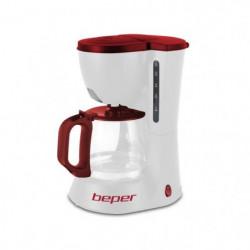 BEPER 90.395H Cafetiere filtre - Blanc et Rouge