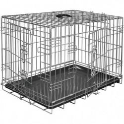 VADIGRAN Cage métallique pliable Classic - 48 x 30 x 38 cm -