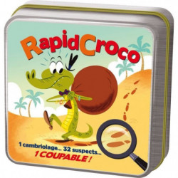 ASMODEE - Rapidcroco - Jeu de société