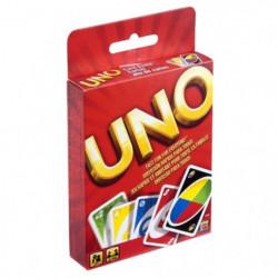 UNO - Uno Classique - Jeu de Cartes Famille - De 2 a 4 joueu