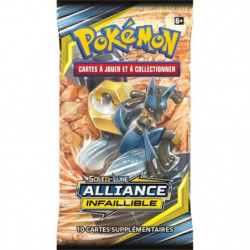 POKEMON Soleil et Lune 10 - Alliance infaillible - Booster S