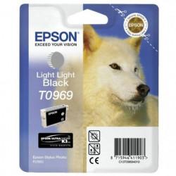 Epson T0969 Loup Cartouche d'encre Gris clair