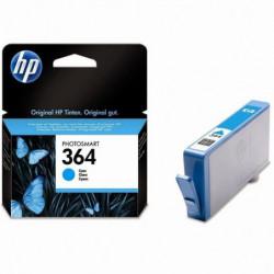 HP 364 Cartouche d'encre Cyan authentique (CB318EE)