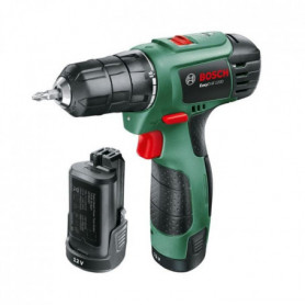 BOSCH Perceuse-visseuse EasyDrill 1200, 2 batteries 1,5 Ah