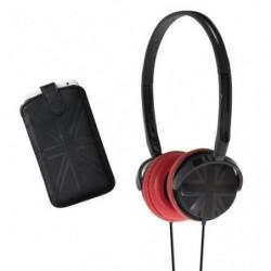 BBC PACKCAPSUKN Pack musique Capsule UK - Noir et rouge