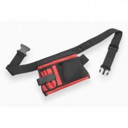 MEISTER Porte-outils vide en nylon 5 poches