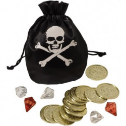 AMSCAN Bourse et pieces Pirate