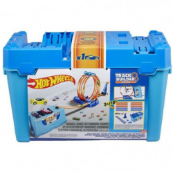 HOT WHEELS - Boîte Double Looping - Kit circuit: comprend se